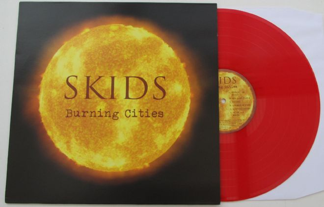 Skids - Burning Cities (2017 Red Vinyl)